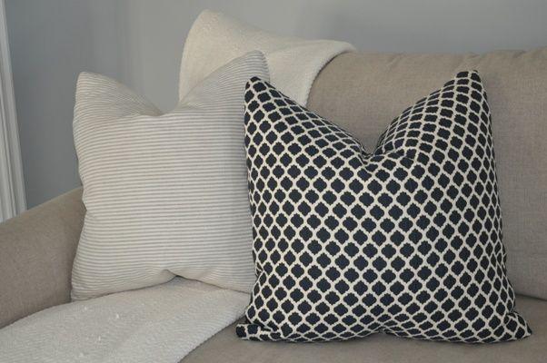 Bungalow Blue Interiors - Home - DIY: envelope pillowcasesPillows Cas, Sewing Pattern