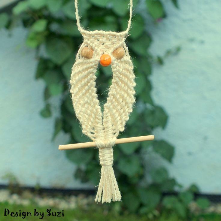 Macramé Owl