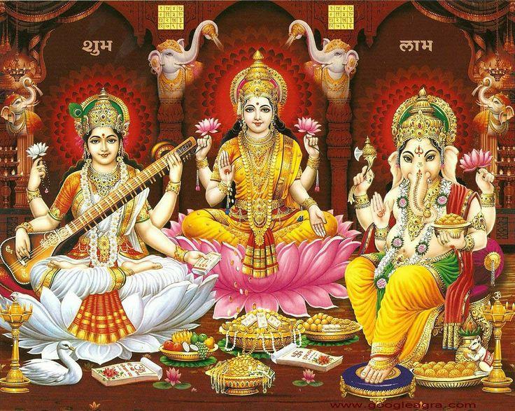 Diwali ganesh laxmi