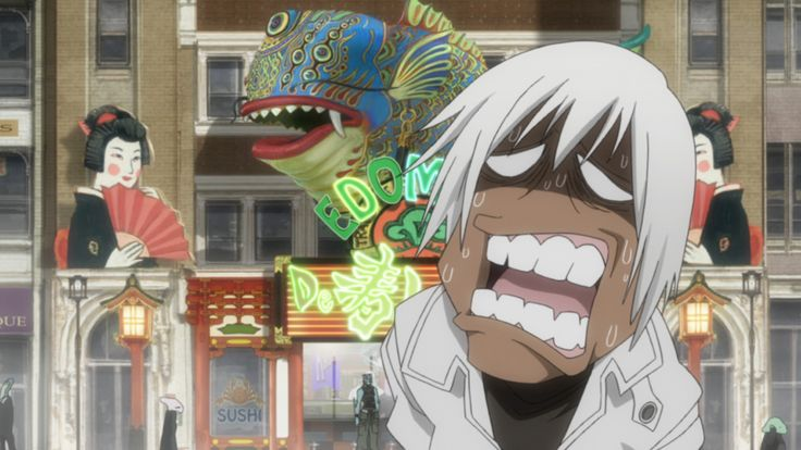 Blood Blockade Battlefront - Épisode 10 : Run ! Lunch !! Run !!! To the end. - Série complète à voir en streaming et téléchargement sur http://animedigitalnetwork.fr/video/kekkai_sensen