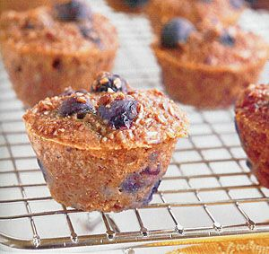 The Biggest Losers Mini Blueberry Bran Muffins...my ALL TIME fave muffins!  w/ cream cheese...mmmmm