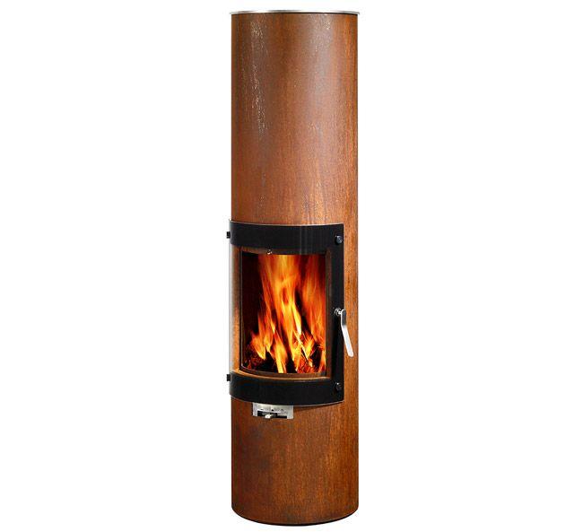 Rais Stoves Rais Pilar Unique Wood Burning Stove Cabin