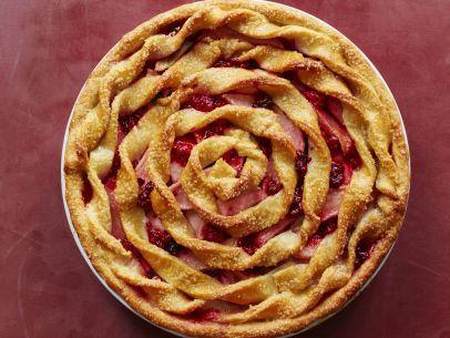 Apple-Berry Twist Pie Recipe : Food Network Kitchen : Food Network