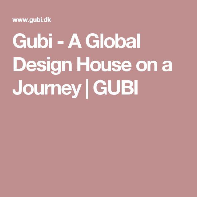 Gubi - A Global Design House on a Journey | GUBI
