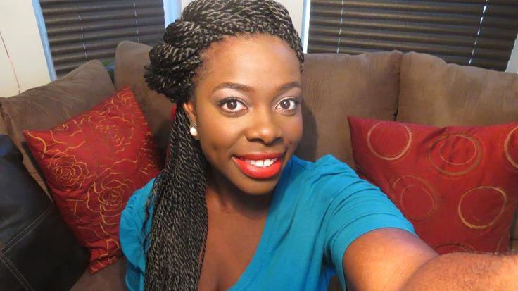17 Best Ideas About Senegalese Twist Bun On Pinterest
