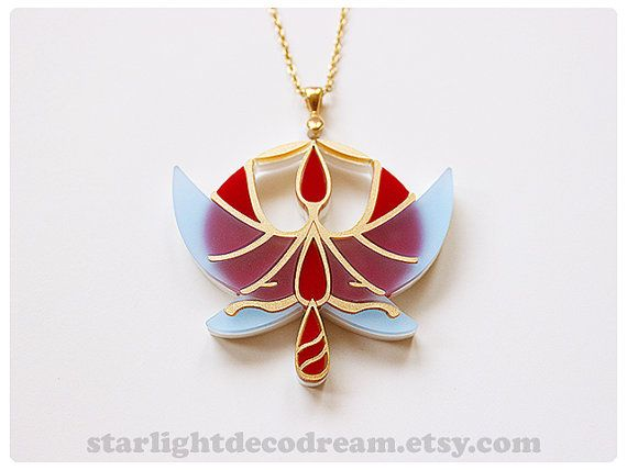 Princess Tutu Acrylic Necklace for Cosplay by StarlightDecoDream