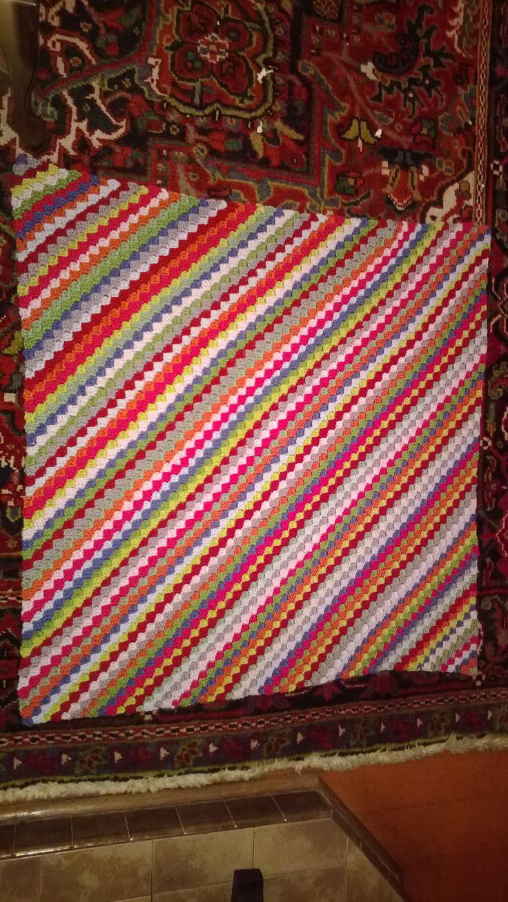Baby  Crochet Blanket for Couse 2 2013