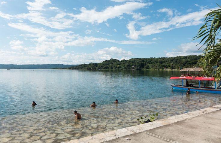 Découvrir le Guatemala par région (Detour Local) -> Petite baignade d'après-midi à Flores www.detourlocal.com/que-faire-guatemala/
