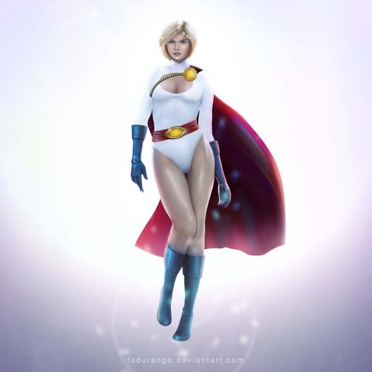 Power girl -  Trinquette Weekly Challenge by fadurango.deviantart.com on @deviantART