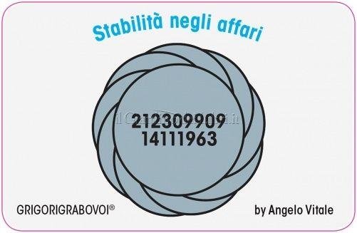 Tessera Radionica 09 - Stabilità negli Affari - Angelo Vitale