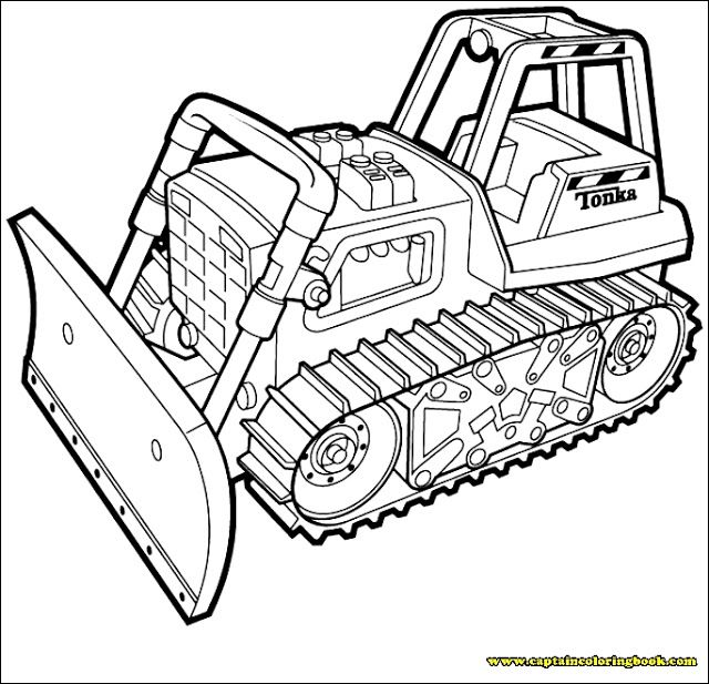Coloring Pages Of Machines Tractor Coloring Pages Truck Coloring Pages Coloring Pages