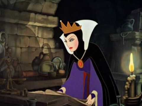 Disney's Snow White - the Jealous Queen Becomes an Evil Witch