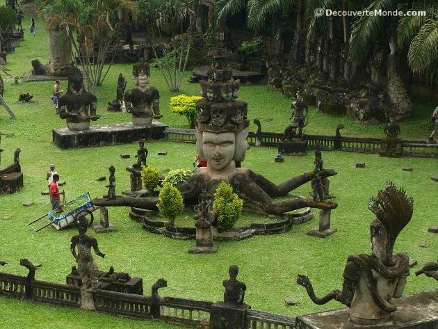 bouddha park laos