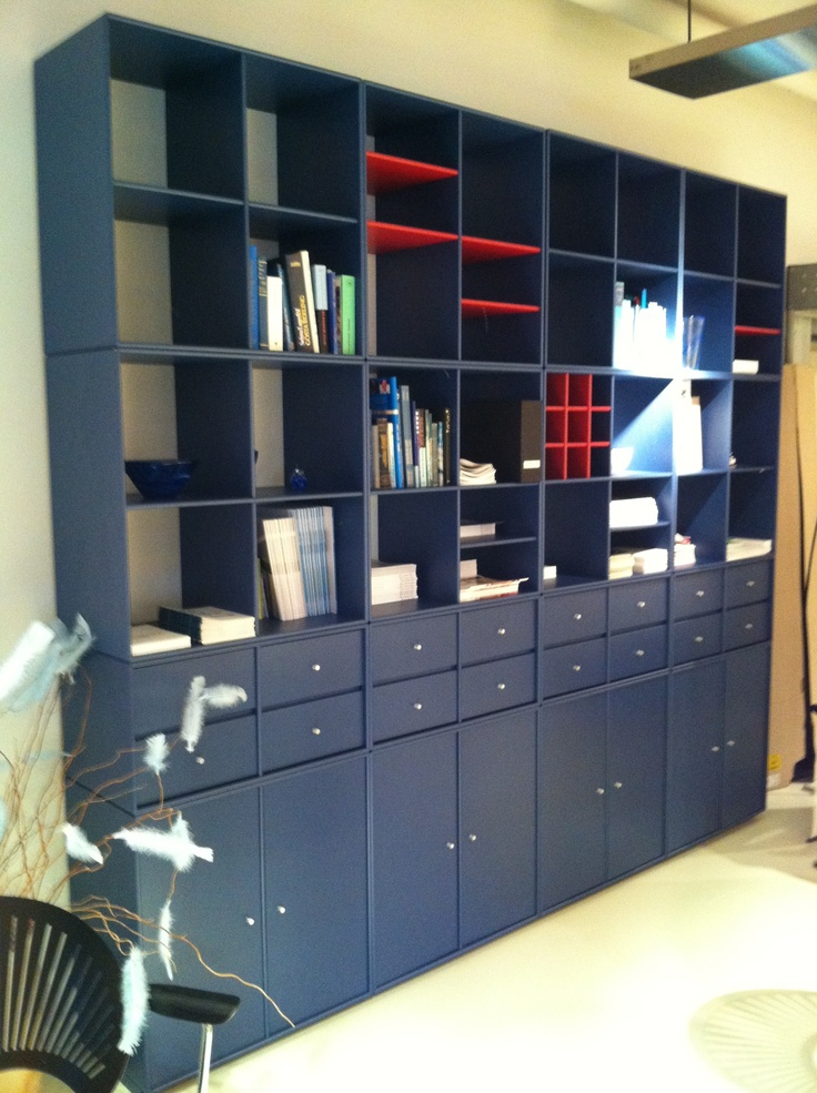 One Example Of A Modular Shelving Unit (Montana Mobler   A Company From  Denmark)