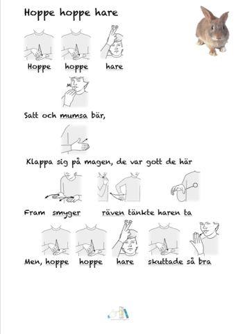 Hoppe hoppe hare | Tecken som stöd | Bloglovin'