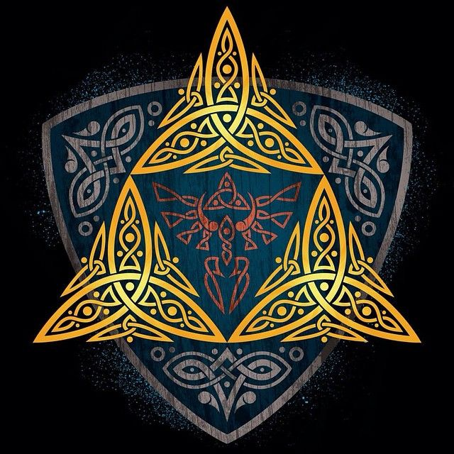 I think I've started to have a craving for interlaced designs, lol, because I randomly felt like making an interlaced version of the Triforce symbol for a t-shirt design. This is available for purchase at my store on Designbyhumans.com. The link to...