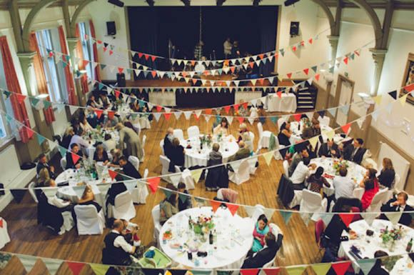 Tweed, The Town Hall and Lots of DIY ~ A Handmade Vintage Inspired Wedding in Scotland...