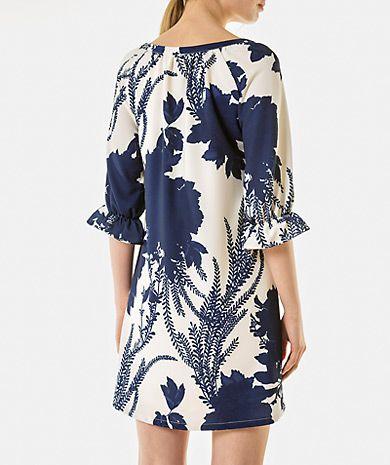 Vestido com estampado floral Into the Blues Mulher | LANIDOR.COM - Shop Online