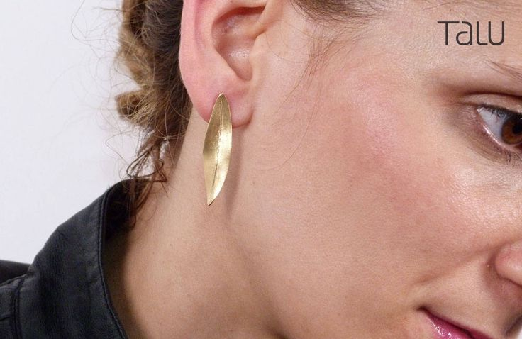 A personal favourite from my Etsy shop https://www.etsy.com/listing/524104805/olive-leaf-earrings-leaf-gold-earrings