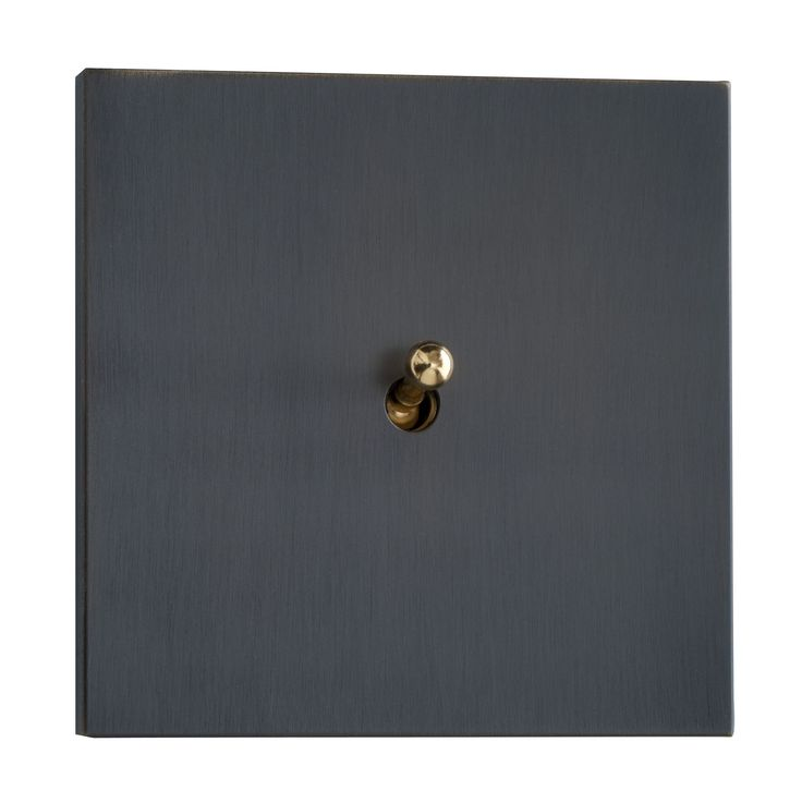 Light switch / lever / contemporary / metal look SYDNEY : BRONZE LUXONOV