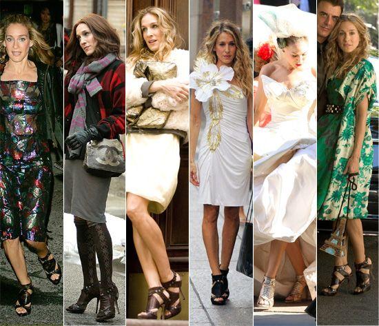#SATC #carrie #bradshaw #HBO #serial #shoes #shopping #zakupy #buty