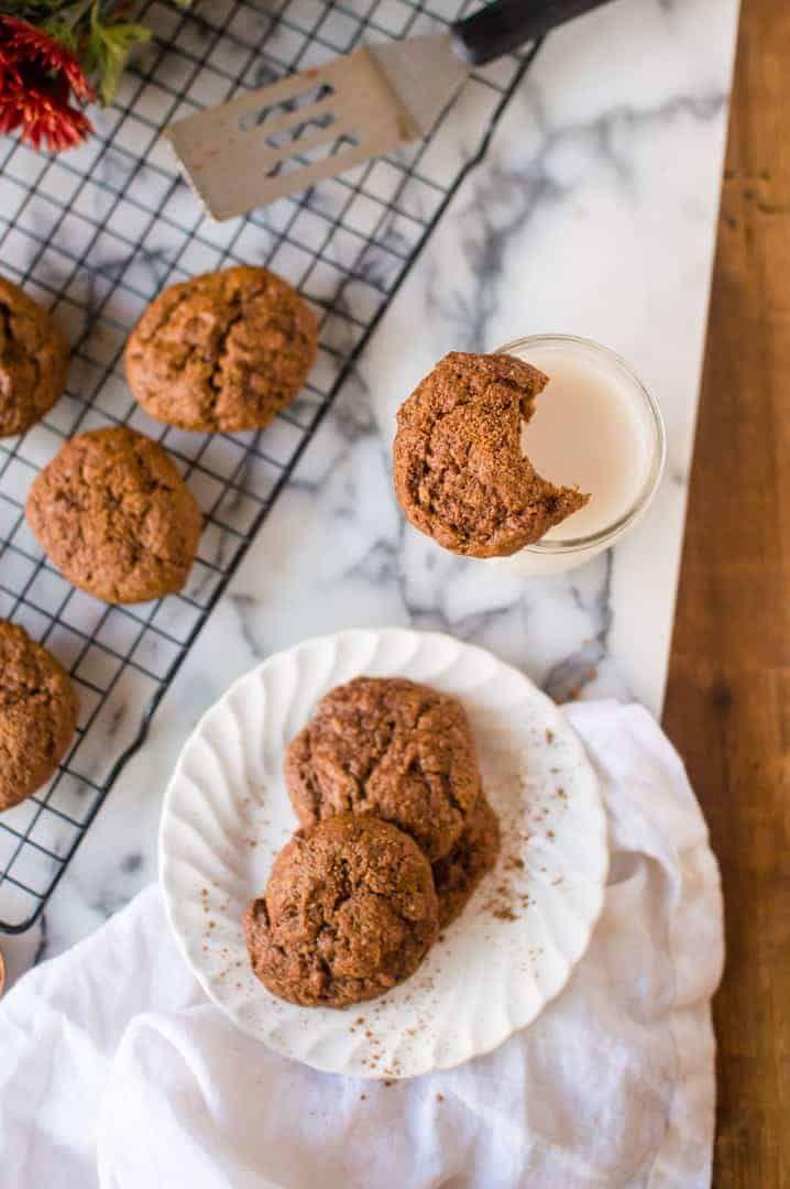 Pumpkin Almond Butter Cookies Recipe Almond Butter Cookies
