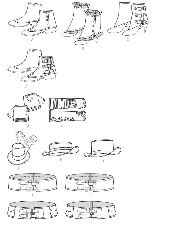 Mejores 12 imágenes de Sew Patterns - Accessories en Pinterest ...