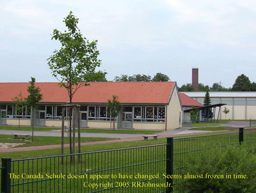 This where my sister went to grammar school. I could see this from where I lived. Zweibrucken Air Force Base housing. Now it is part of housing for immigrants.
