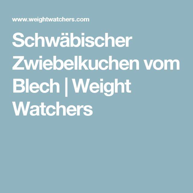 Schwäbischer Zwiebelkuchen vom Blech | Weight Watchers