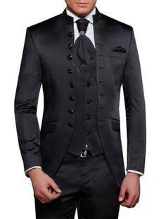 Gehrock-Herren-Anzug-4-teilig-Muga-2033