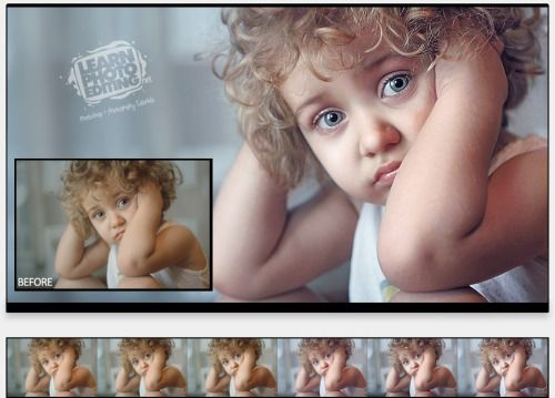 51 best learn photo editing images on pinterest photoshop tutorial retouching portrait photoshop tutorials on how to create professional looking photos and images turn your photos into magazine covers by learning the fandeluxe Choice Image