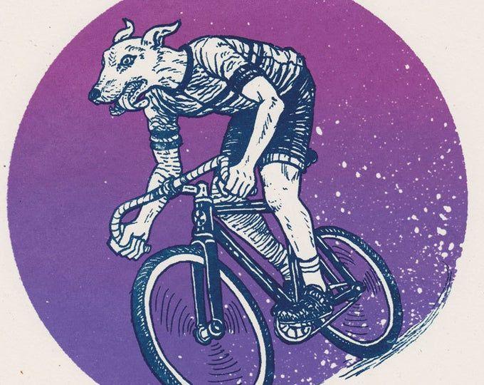 Track Bike Jumble In 2020 Bike Print Art Art Prints