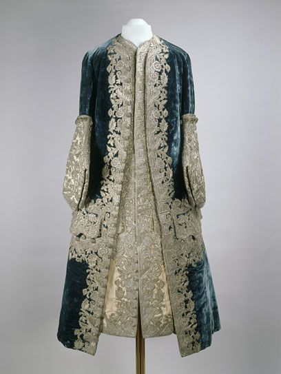 1727-1730 French Coat and waistcoat worn by Tsar Peter II at the Moscow Kremlin Museum