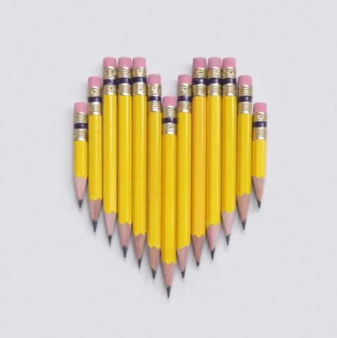 One of the many wonderful things about pencils is that they make great gifts. They're inexpensive, they tell a story, they serve many functions and they're ju