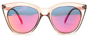 Le Specs The Halfmoon Magic Sunglasses in Tan