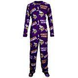 Minnesota Vikings NFL Wildcard Unionsuit Pajamas (Large)