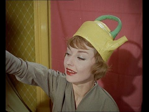 Bizarre Hat Fashions with a Kitchen Theme! 1950s fashion film.