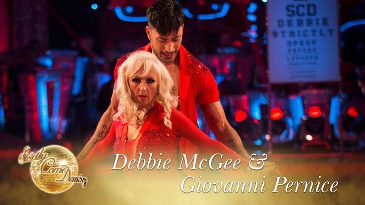 Debbie & Giovanni Salsa to 'I Can't Take My Eyes Off Of You' - Strictly ...