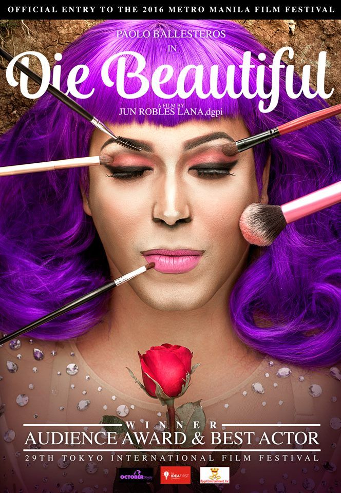 DIE BEAUTIFUL [2016] Friends attend the wake of Trisha, a Filipino transgender woman. They look back into the her life as she faces the adversities and triumphs of living as a transgender in Filipino society