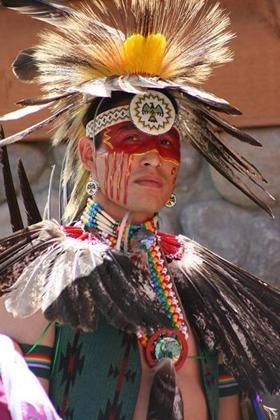 Clinton Soto hoop dancer. Canada Day.