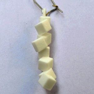 "Earring ""Cubes"""