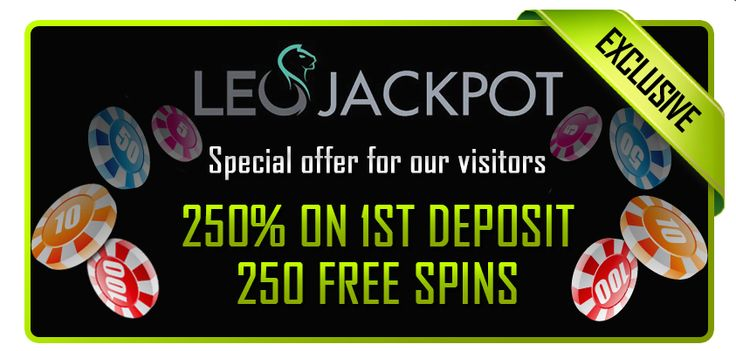 Double your deposit and get 250 Free Spins at LeoJackpot! http://bit.ly/1ClQvyp