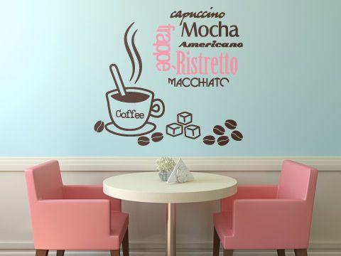 Café - Coffee- vinilo decorativo Cocina