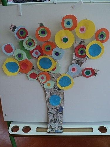 arbre à ronds chez Katia