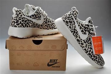Women's 2013 Nike Roshe Run Leopard Shoes - Women's Roshe Run Shoes