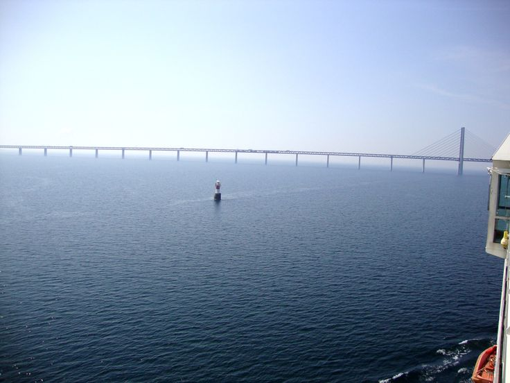 #Öresundsbron  #The Oresound bridge between #Sweden and #Denmark