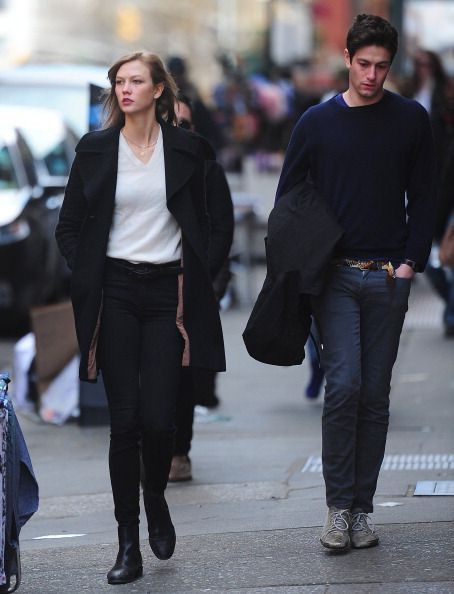 Joshua-Kushner and Karlie Kloss