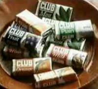 Jacob's Club biscuits.  We always got one of these with a glass of squash at our after school club.