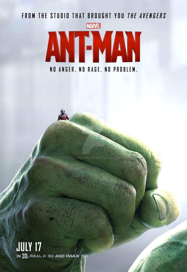 Ant-Man Poster (Hulk) by tclarke597.deviantart.com on @DeviantArt