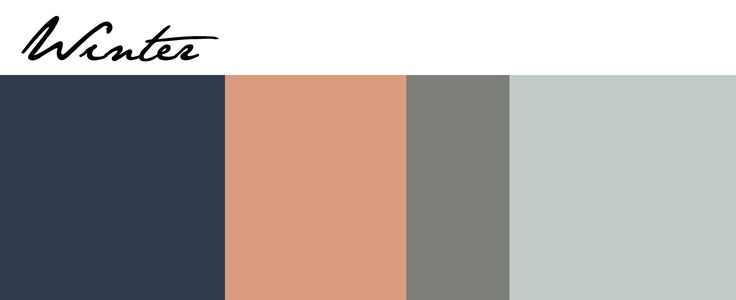 Naval Blue, Persimmon, Attitude Gray and Copen Blue